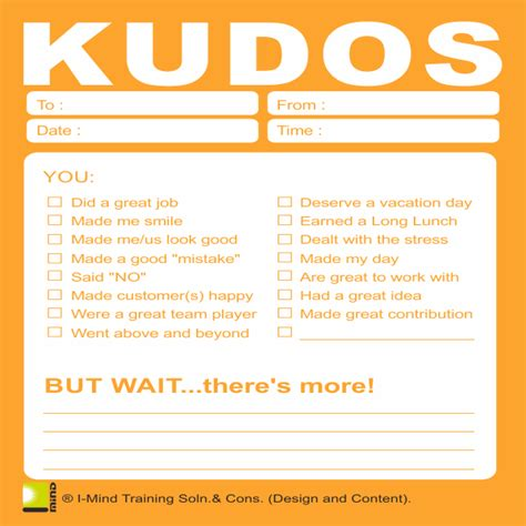 kudo cards templates kudos card orange imind net in