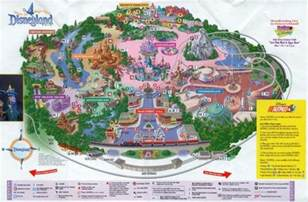 map of disneyland in california theme park brochures disneyland theme park brochures