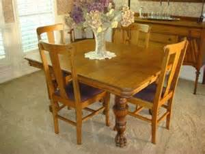 antique oak dining room furniture 350 antique early american solid oak dining room table