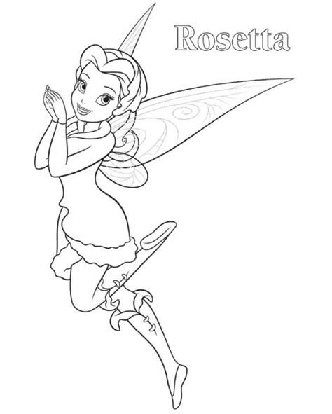coloring pages rosetta rosetta tinkerbell coloring page disney coloring pages