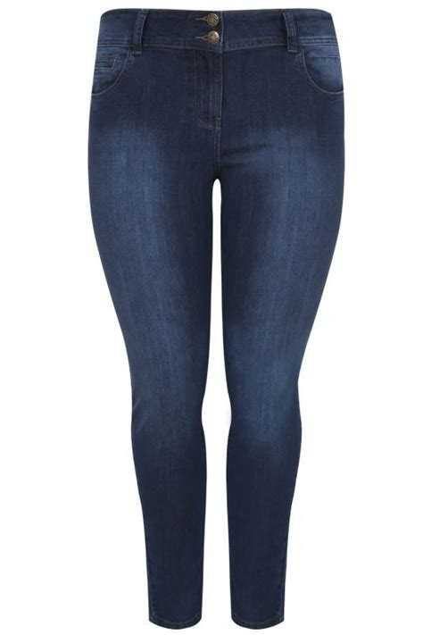 Jegging Basic Ripped Jumbo 31 34 indigo shaper available in 30 quot 32 quot plus