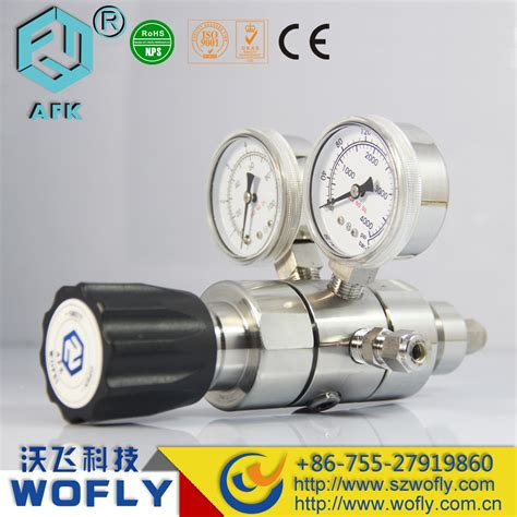 Regulator Gas High Pressure Nis0909 high pressure two stage two gauges nitrogen gas pressure regulator in pressure regulators from