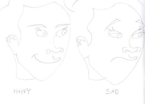 Drawing 4 6 Draw by How To Draw 4 Emotions Kristen Tutorial Drawing By
