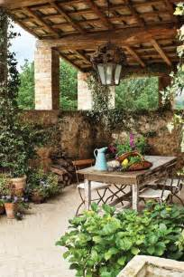 tuscan patio tuscan style decor pinterest