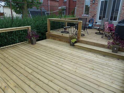 two level backyard two level backyard deck cutting edge construction