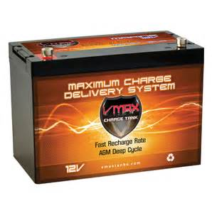 cycle battery for trolling motor vmax mr127 for chaparral power boat trolling motor marine