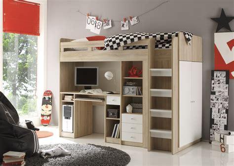 hochbett mit kleiderschrank unter dem bett jugendzimmer gestalten ideen zu einrichtung und deko