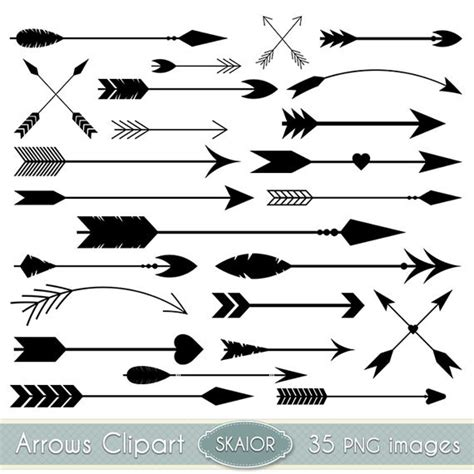 arrow doodle free vector arrows clipart vector arrows clip tribal digital