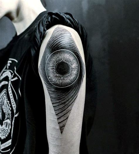 tattoo eye shoulder top 100 eye tattoo designs for men a complex look closer