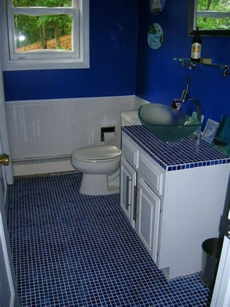 35 cobalt blue bathroom tile ideas and pictures 35 cobalt blue bathroom floor tiles ideas and pictures