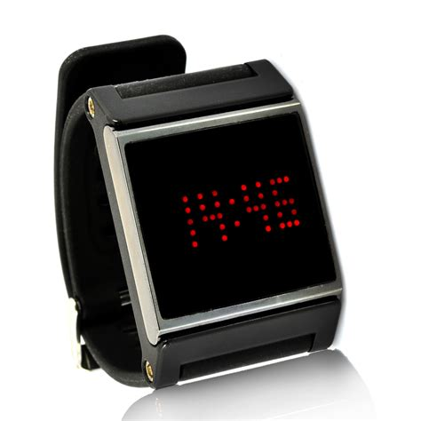 wholesale time display bracelet led wrsit from