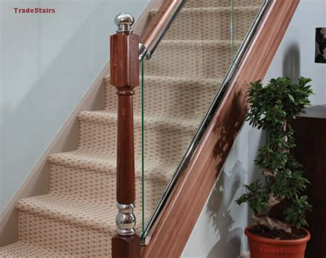Spindle Banister Axxys Clarity Glass Look Balustrade Ideas Staircase Ideas