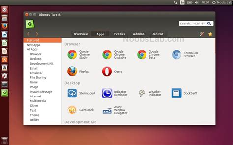 How To Install L On Ubuntu by Ubuntu Tweak Reached To 0 8 7 Version Install It In