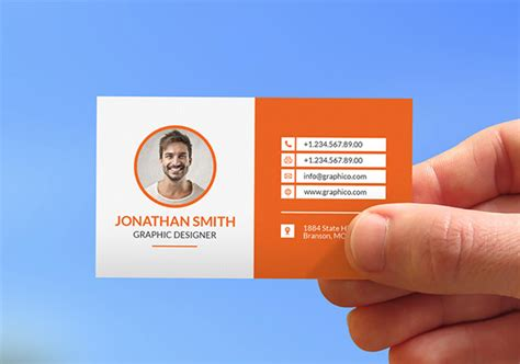Contact Card Template 15 Contact Card Templates Psd Ai Eps Free Premium Templates