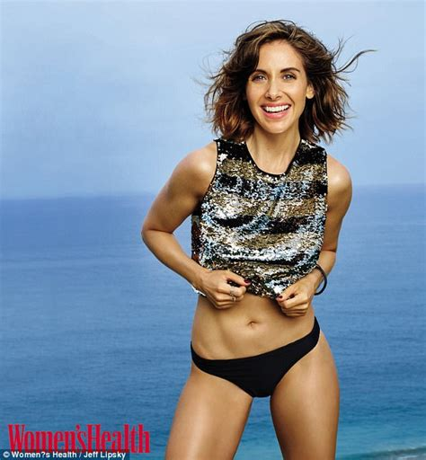 alison brie workout alison brie reveals she hasn t weighed herself in years