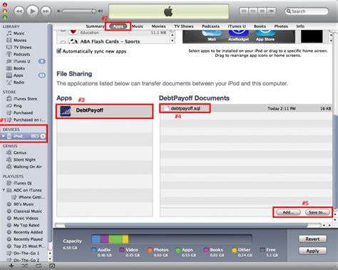 itunes file sharing section svt software llc itunes file sharing