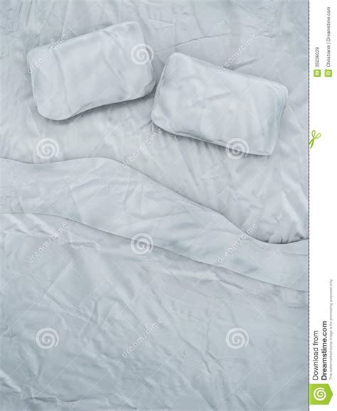 how to be on top in bed empty white bed royalty free stock images image 35036029
