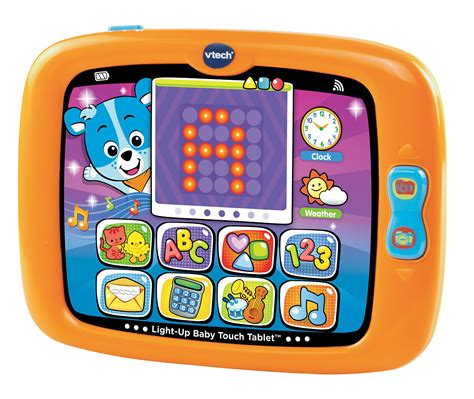 baby toys that light up and play baby touch tablet smart light up education play to