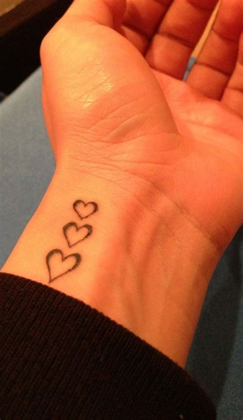 3 heart tattoo 17 best ideas about 3 hearts on