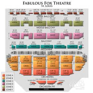 fox theater floor plan fabulous fox theatre st louis tickets fabulous fox