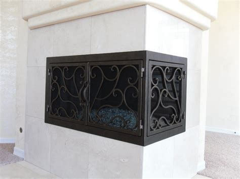 fireplace screens san diego ams fireplace doors remodel ideas traditional living
