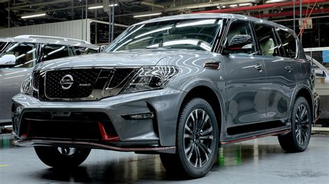 nissan commences production of the patrol nismo at its