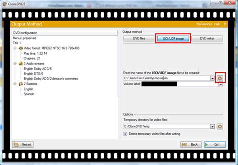 cd format udf iso copy full dvd movie disc to a dvdr using clonedvd page 3