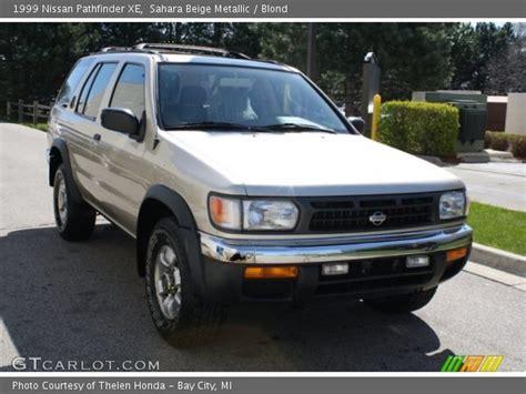 1998 beige metallic nissan pathfinder beige metallic 1999 nissan pathfinder xe blond