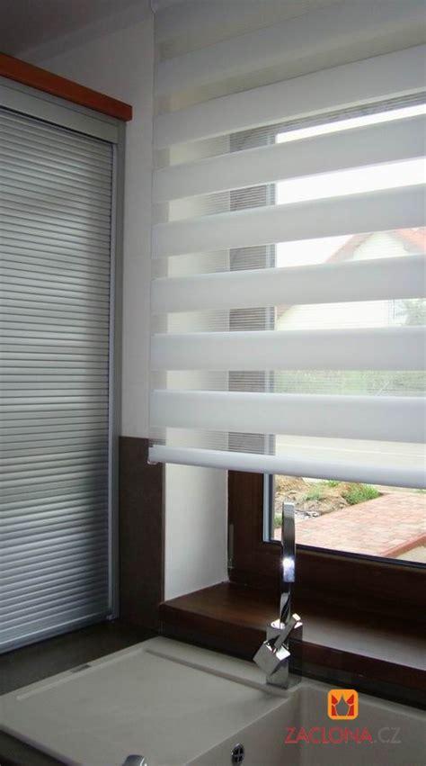 moderne rollos k 252 chenfenster mit duo rollo heimtex ideen