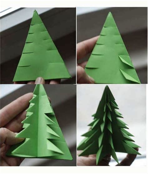 step by step christmas tree oragami wiki with pics 3d origami tree craft ideas pinte