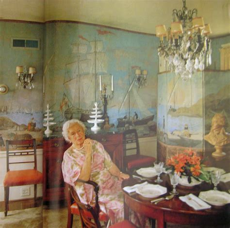 Dining Room Wall Murals Provenance Taste Moving Houses And The Sad Tale Of A Beautiful Wallpaper The East