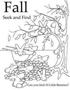 Seek And Finds  Littlebunnyseries sketch template