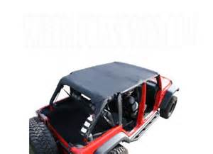 Jeep Accessories Island Jeep Wrangler Island Pocket Topper Black 2007 2009