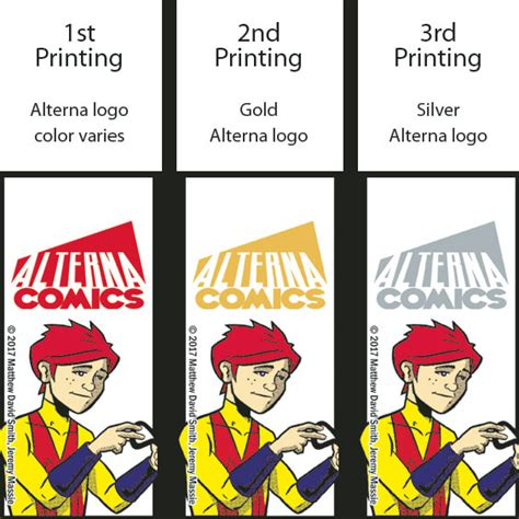 Alterna Contest by Alterna Comics Get Color Coded Logos For Diehard Readers