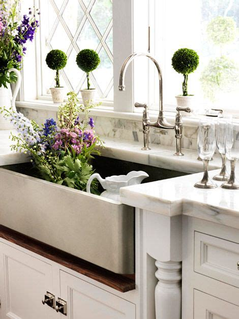 Pretty Kitchen Sinks Zsazsa Bellagio Like No Other House Beautiful Kitchen