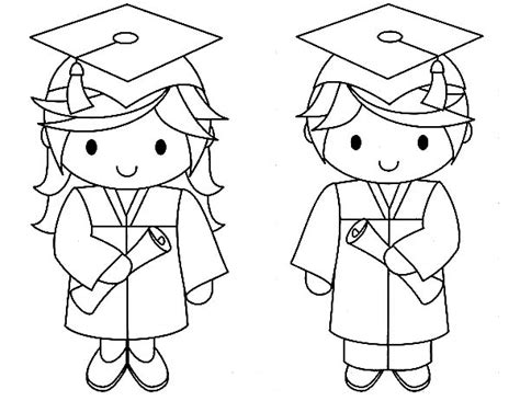 coloring pages for preschool graduation graduation couple coloring pages color luna