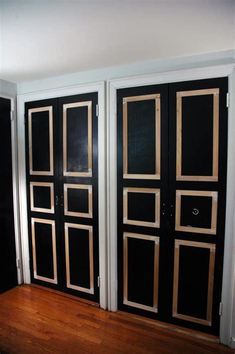 How To Paint Closet Doors Remodelaholic 40 Ways To Update Flat Doors And Bifold Doors
