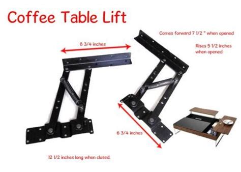 Coffee Table Lift Top Hardware Lift Top Coffee Table Mechanism Diy Hardware Lift Up Furniture Hinge