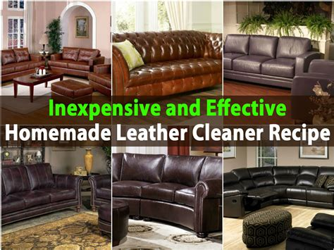 home remedy to clean leather sofa cleaning leather sofa energywarden