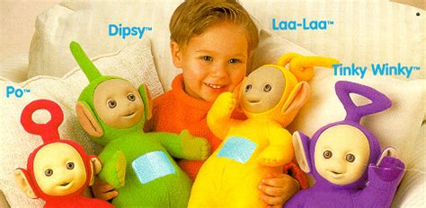 teletubbies names and colors teletubbies