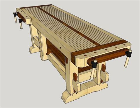 Sketchup For Woodworking Design The Quot Samurai Workbench