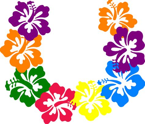 tropical pattern png hawaiian flowers png clipart best