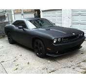 Matte Black Dodge Challenger Yes My Dream Car  I