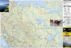 map of western canada national geographic mapscompany