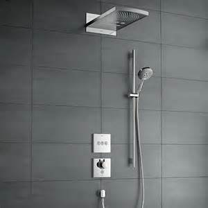 dusche hansgrohe select nouvelles solutions de montage encastr 233