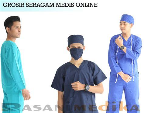 Baju Pasien Baju Operasi Baju Rumah Sakit Murah Bahan Bagus 1 grosir seragam medis rasani medika