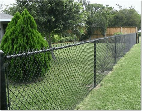 Ugly Backyard Makeovers Chain Link Fence