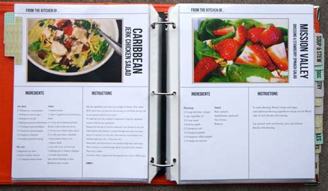 Homemade Recipe Book Using Document Life Workshop Recipe Template Set By Megan Anderson Cookbook Page Template Free