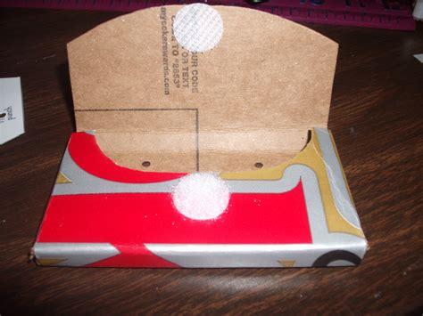 card holder cereal box vicki s vault cereal box craft wallet business card holder
