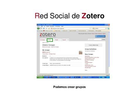 tutorial de zotero en español zotero 2 0